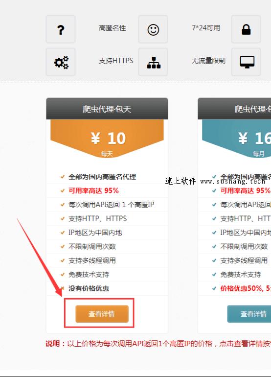 速上美团数据采集软件图文教程:代理ip注册及使用指南  美团采集 换IP 第3张